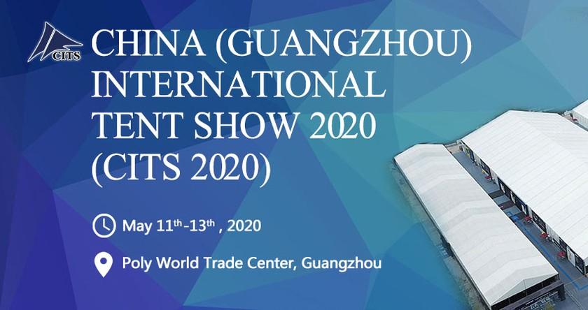 China (Guangzhou) International Tent Show 2020 баннер