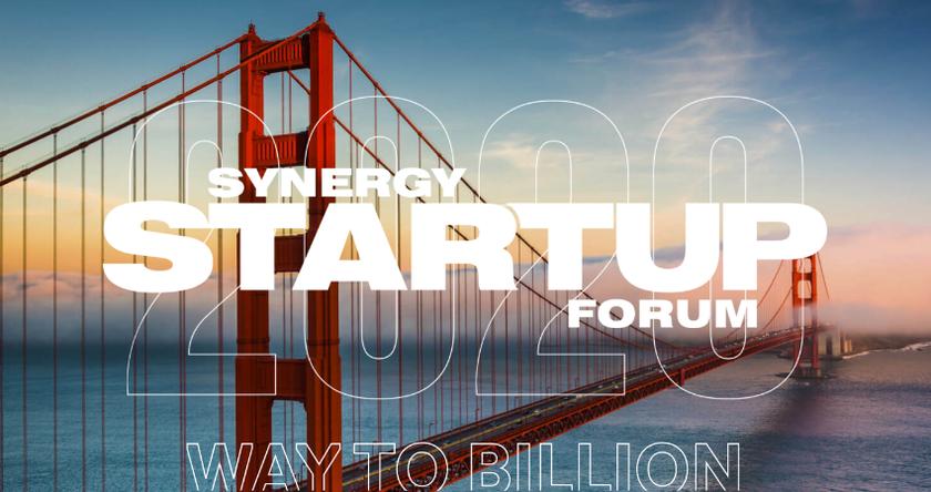 Synergy Startup Forum 2020 баннер