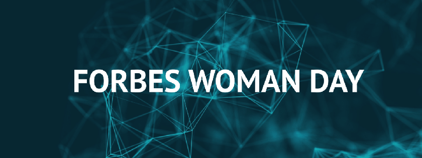 Forbes Woman Day баннер
