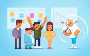 Как мы используем Agile в своей команде баннер