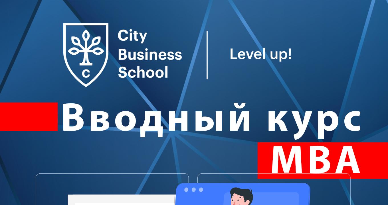 Вводный курс MBA баннер